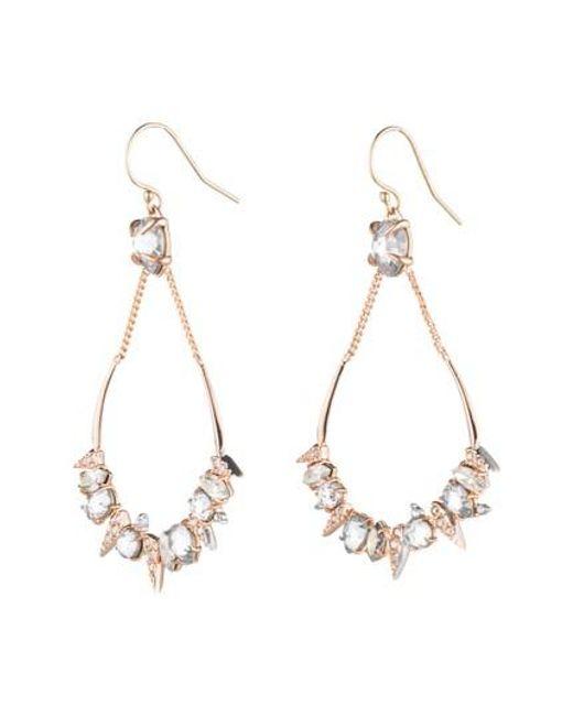 Alexis Bittar   Metallic Crystal Encrusted Mosaic Drop Earrings   Lyst