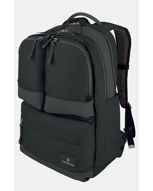 Victorinox | Black Victorinox Swiss Army Dual Compartment Backpack for Men | Lyst