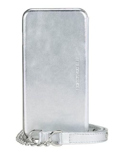 Rebecca Minkoff   Iphone 7 Mirror Folio Case - Metallic   Lyst
