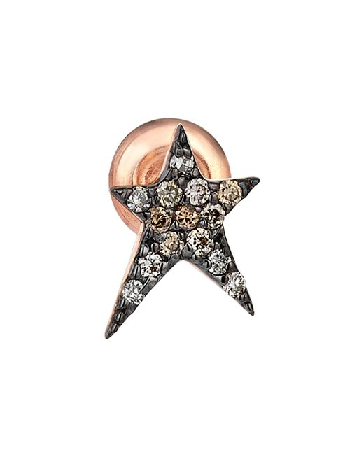 Kismet by Milka - Multicolor Diamond Stud Earring - Lyst