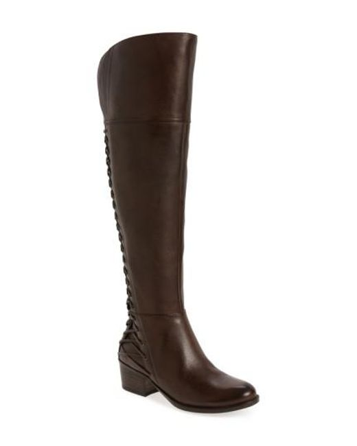 Vince Camuto | Brown Bolina Over The Knee Boot | Lyst