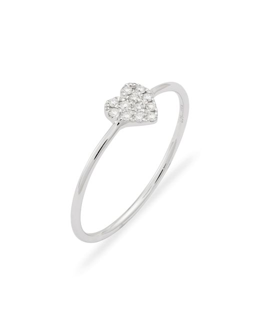 Bony Levy Multicolor Mika Love Heart Shaped Diamond Ring (nordstrom Exclusive)