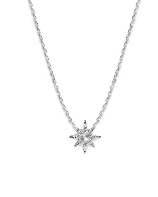 Anzie - Metallic Aztec Starburst Pendant Necklace - Lyst
