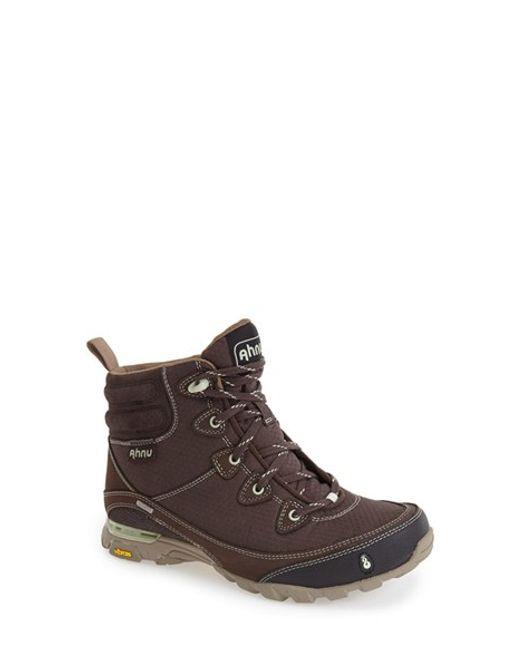 Ahnu | Blue 'sugarpine' Waterproof Boot | Lyst