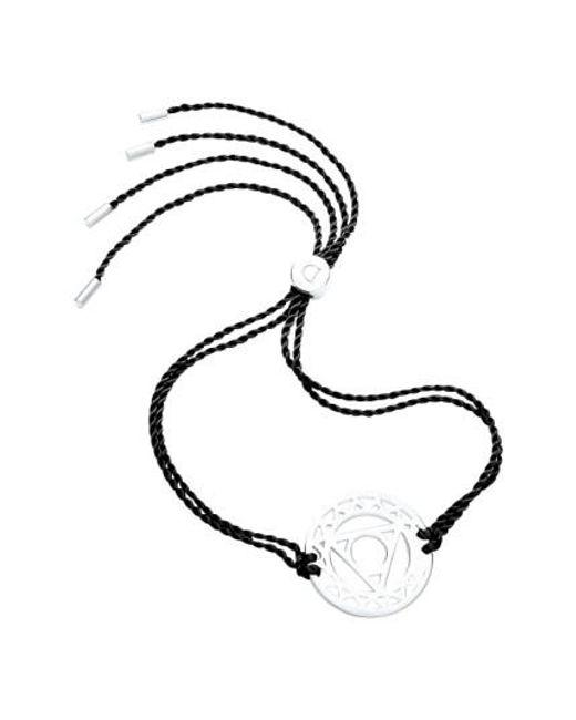 Daisy London   Metallic 'throat Chakra' Cord Bracelet   Lyst