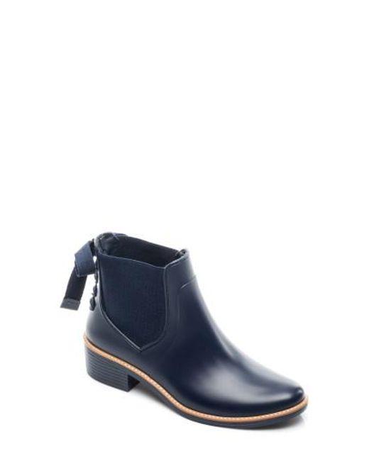 Bernardo | Blue Paige Rain Boot | Lyst