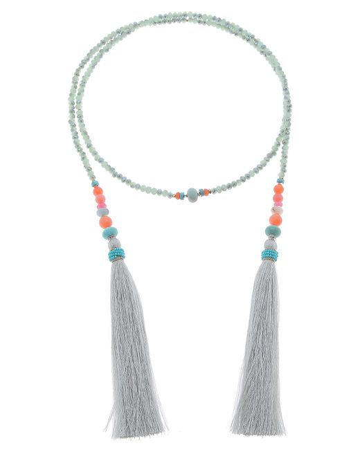 Nakamol - Multicolor Tassel Lariat Necklace - Lyst