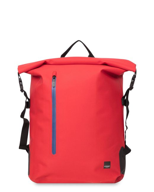 Knomo - Red Thames Cromwell Roll Top Backpack for Men - Lyst