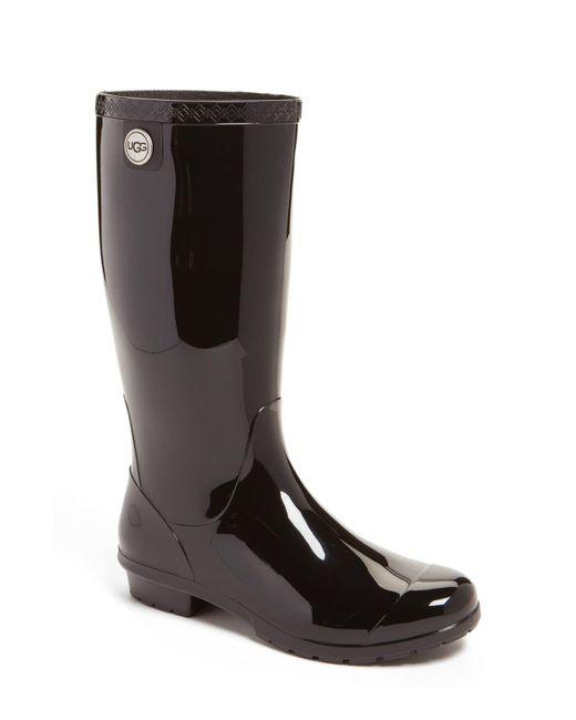 Ugg Green Shaye Rubber Rainboots