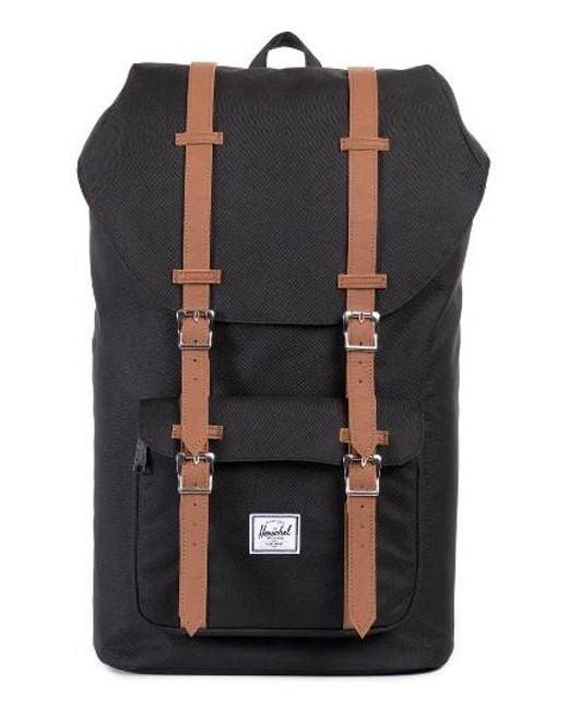 Herschel Supply Co. | Black 'little America' Backpack for Men | Lyst