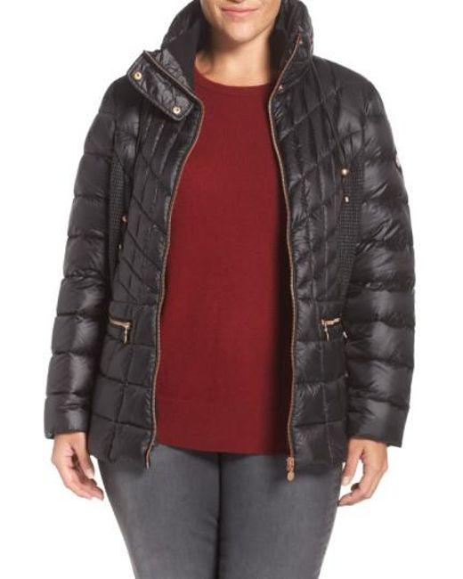 Bernardo   Packable Jacket With Down & Primaloft Fill, Black   Lyst