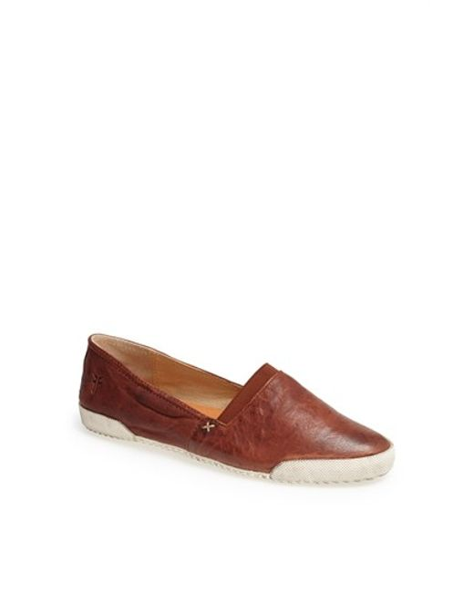 Frye | Brown 'melanie' Slip-on | Lyst