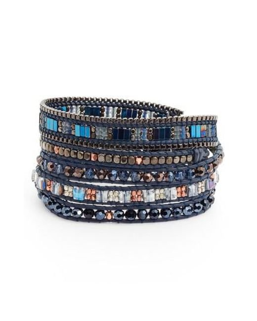 Nakamol | Blue Leather | Lyst