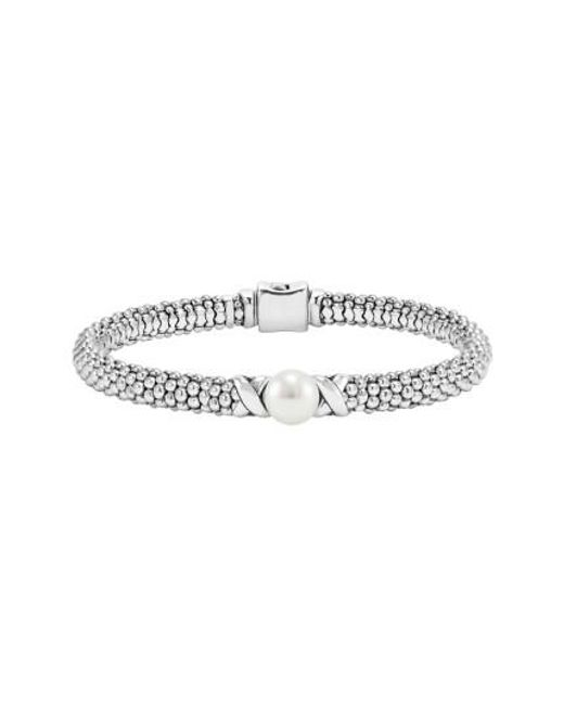 Lagos   Metallic 'luna' Pearl Rope Bracelet   Lyst