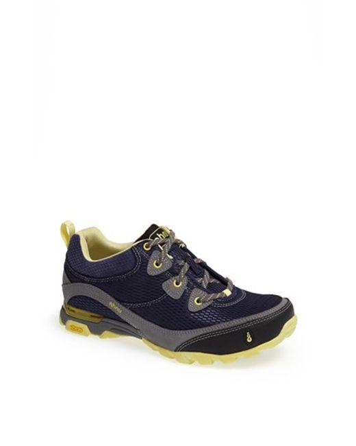 Ahnu | Gray 'sugarpine - Air' Mesh Sneaker | Lyst