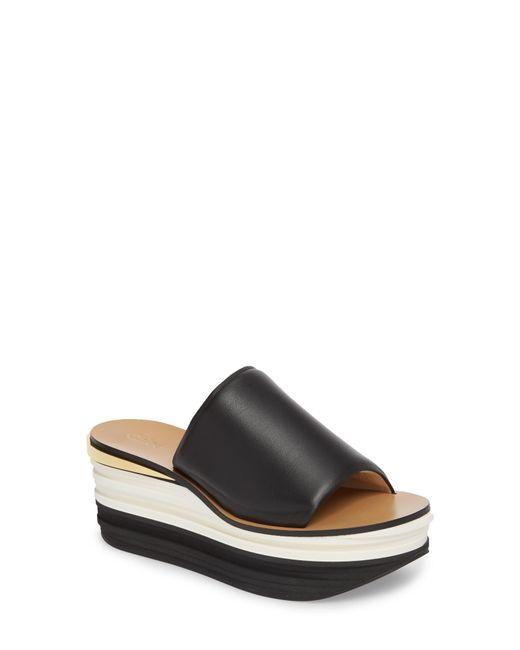 Chloé - Brown Camille Platform Sandal - Lyst