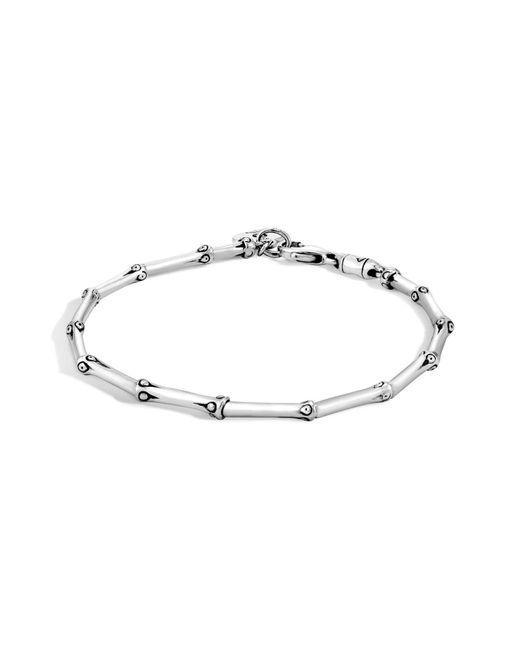 John Hardy - Metallic 'bamboo' Bracelet - Lyst