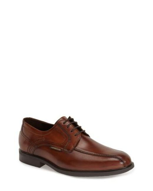 Mephisto - Brown 'fabio' Bicycle Toe Derby for Men - Lyst