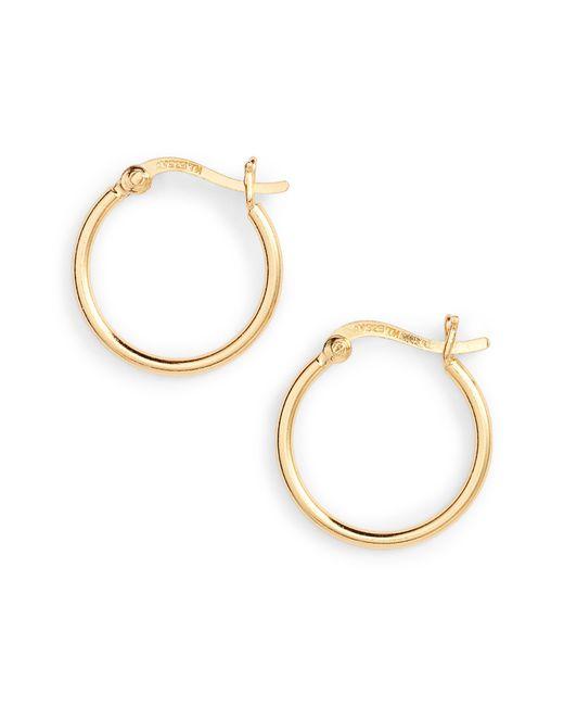 Argento Vivo - Metallic Hoop Earrings - Lyst