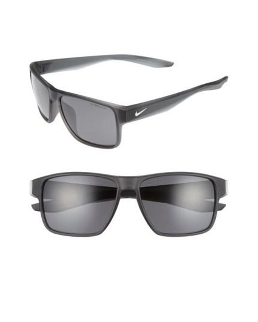 Nike | Gray Essential Venture 59mm Sunglasses | Lyst