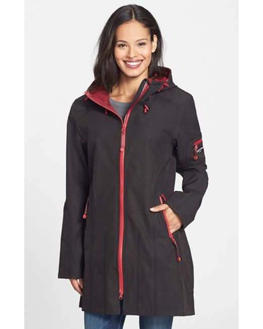 Ilse Jacobsen | Black 'rain 7b' Hooded Water Resistant Coat | Lyst