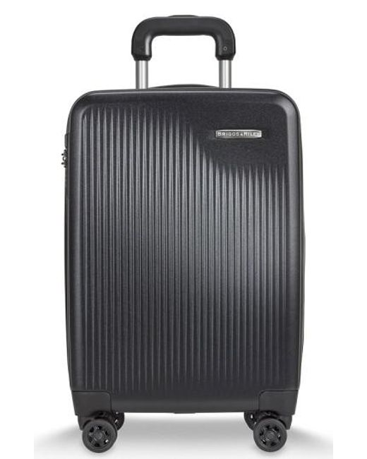 Briggs & Riley | Black 'sympatico' Expandable Wheeled Carry-on for Men | Lyst