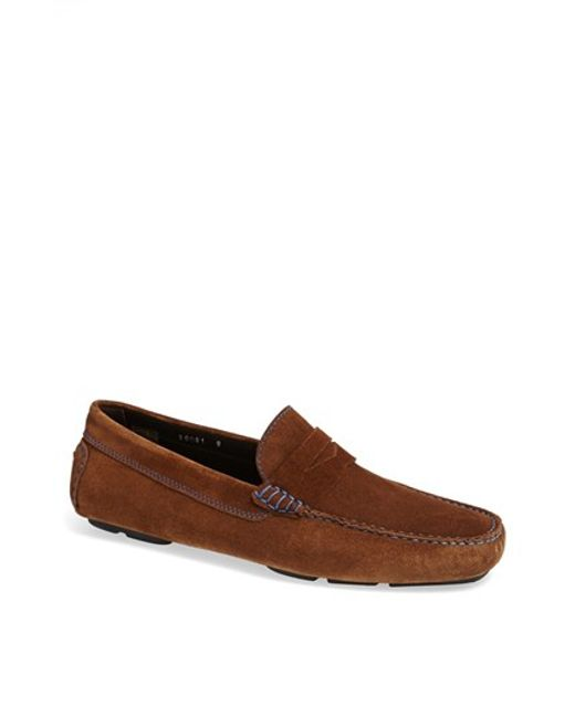To Boot | Brown 'ashton' Driving Shoe for Men | Lyst