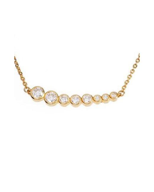 Melinda Maria | Metallic Julia Pendant Necklace | Lyst