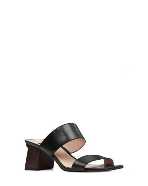 Nine West - Black Churen Sandal - Lyst