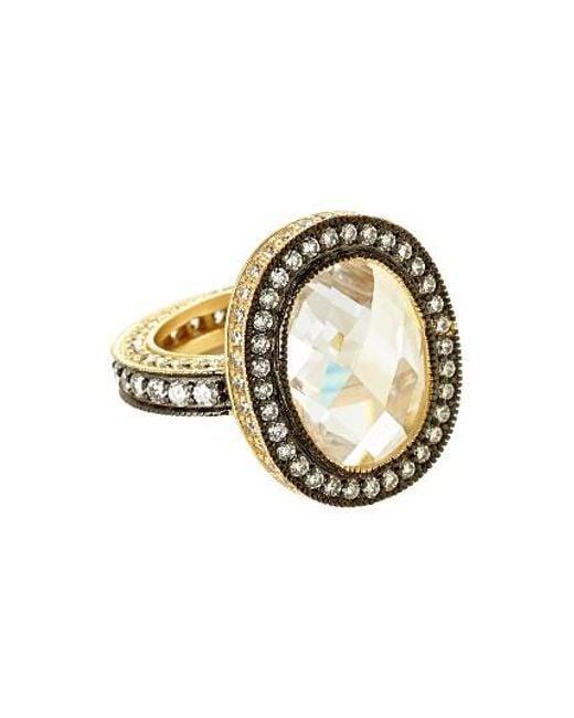 Freida Rothman   Metallic Cocktail Ring   Lyst