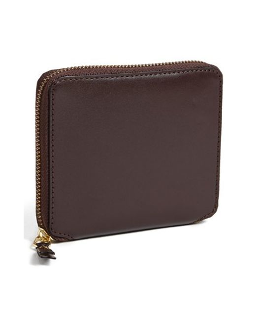 Comme des Garçons | Brown 'classic' French Wallet for Men | Lyst