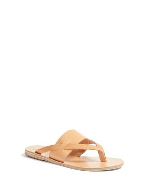 Ancient Greek Sandals | Natural Zenobia Flip Flop | Lyst