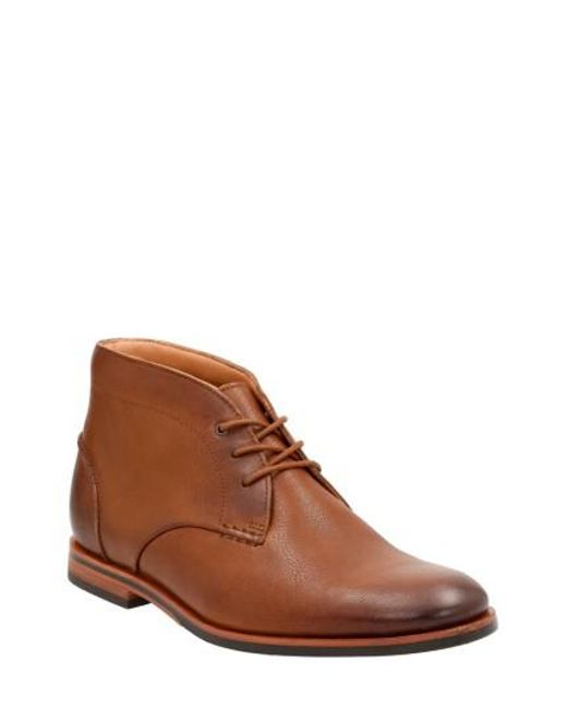 Clarks | Brown Clarks Broyd Mid Chukka Boot for Men | Lyst