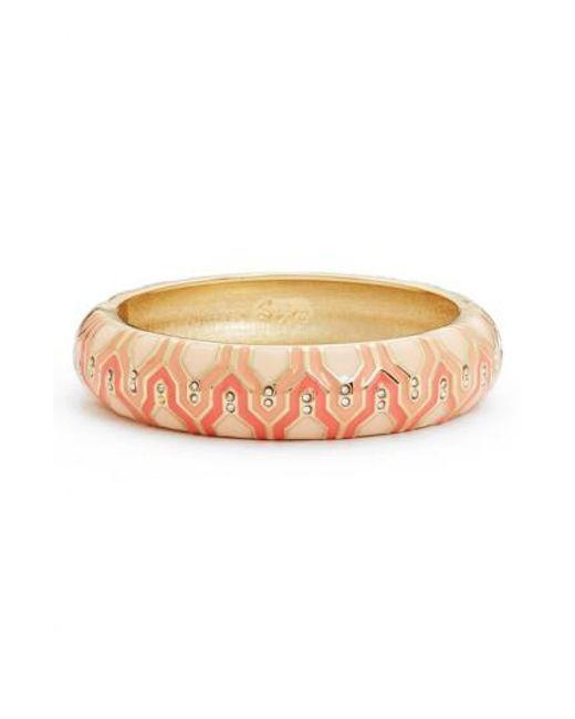 Sequin | Pink Casbah Hinge Bangle | Lyst
