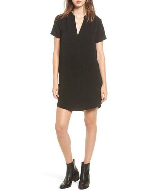 Nordstrom - Black Hailey Crepe Dress - Lyst