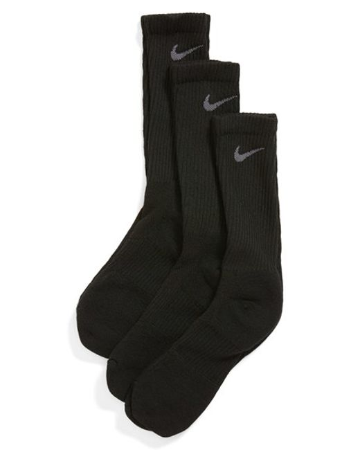 Nike | Dri-fit 3-pack Crew Socks, Black for Men | Lyst