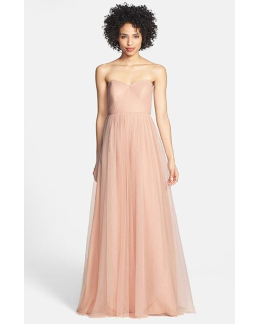 Jenny Yoo | Pink Annabelle Tulle Gown | Lyst