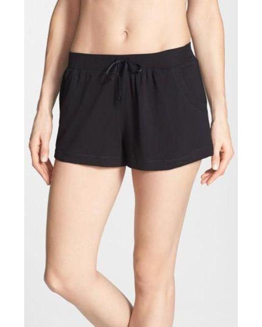 DKNY | Black 'city Essentials' Shorts | Lyst