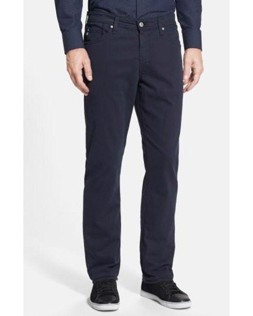 AG Jeans   Blue Graduate Sud Slim Straight Leg Pants for Men   Lyst