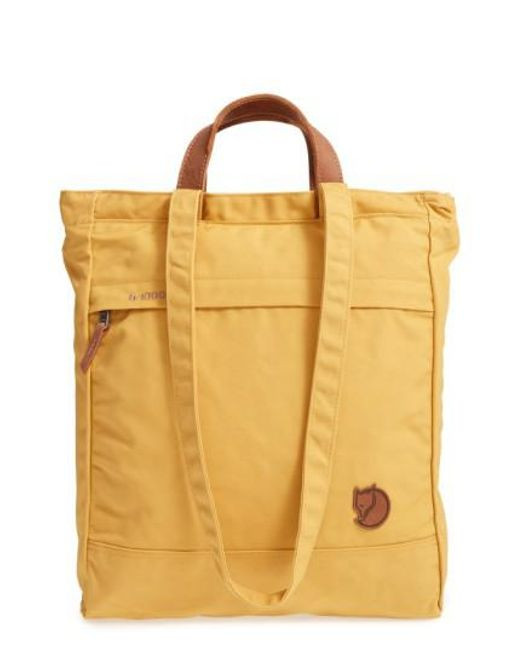 Fjallraven | Multicolor 'totepack No.1' Water Resistant Tote | Lyst