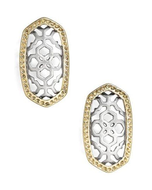 Kendra Scott | Metallic 'bryant' Drop Earrings | Lyst