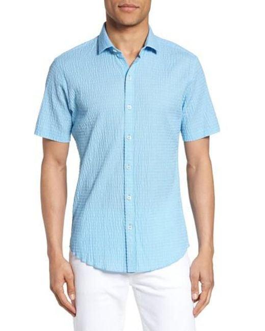Zachary Prell | Blue Morales Sport Shirt for Men | Lyst