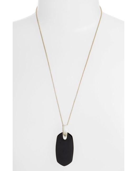 Kendra Scott Metallic Inez Pendant Necklace