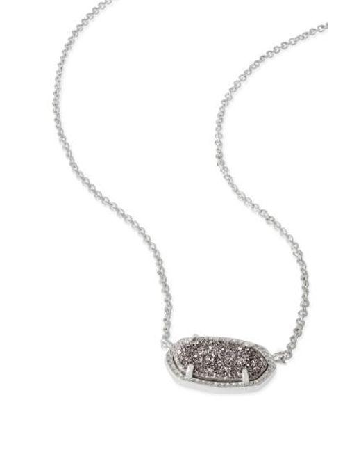 Kendra Scott - Metallic Elisa Pendant Necklace - Lyst
