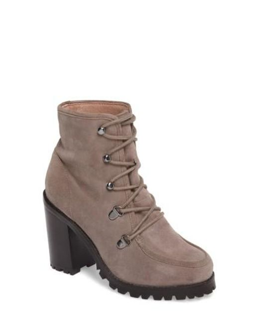 Seychelles | Brown Theater Lace-up Bootie | Lyst