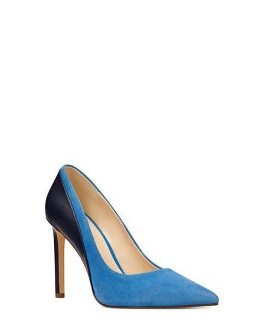 Nine West - Blue Taymra Pointy Toe Pump - Lyst