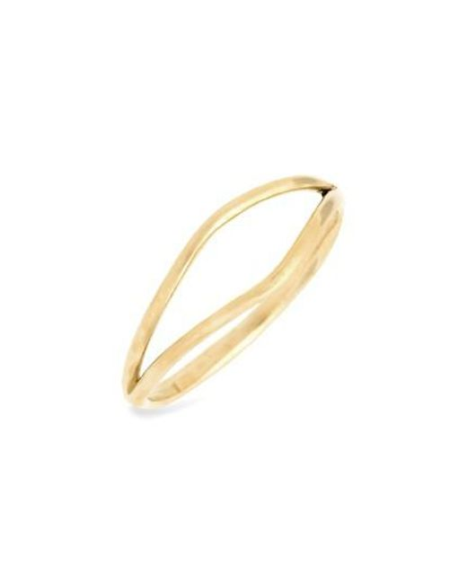 Wwake | Metallic Split Ring | Lyst