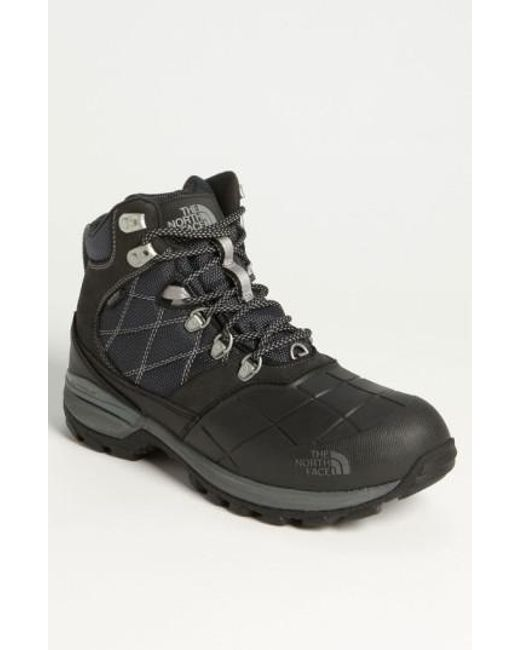 The North Face - Black 'snowsquall' Snow Boot for Men - Lyst