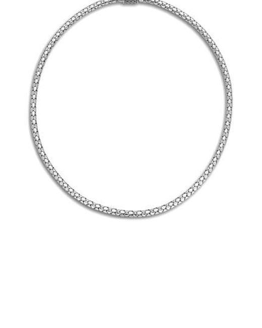 John Hardy - Metallic Dot Chain Necklace - Lyst