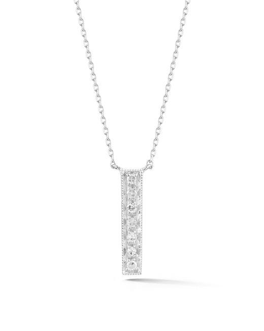 Dana Rebecca - Metallic Sylvie Rose Vertical Bar Diamond Pendant Necklace - Lyst